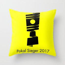 Pokal Sieger 2017 ! - Black Edition Throw Pillow