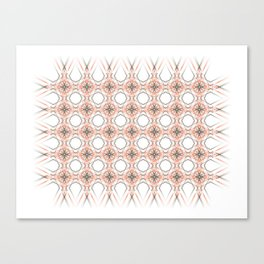 Tribal Modern Pattern • Details Canvas Print