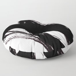 Abstract Wall art, Abstract Print, Black White Abstract Print, Black White Art, Minimalist Print, Ab Floor Pillow
