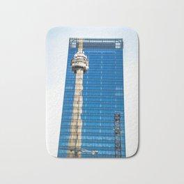 CN Tower Reflections Bath Mat