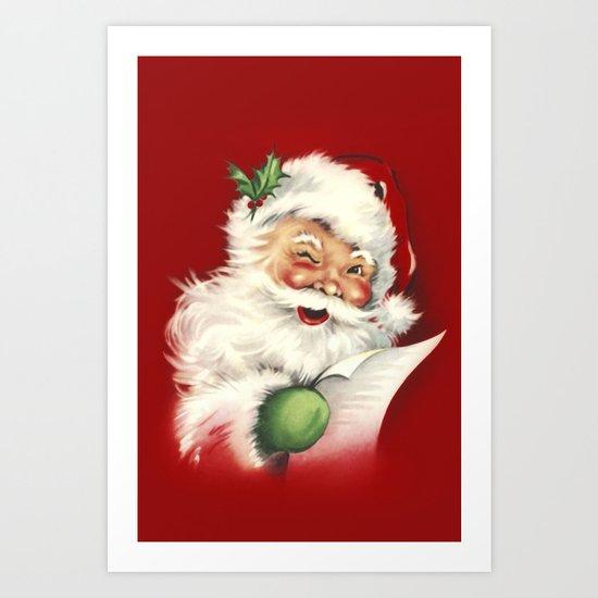 Vintage Santa by simonegatterwe