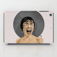 psycho iPad Cases featuring Psycho by Beethowen Souza