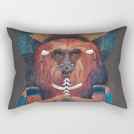 Monkey Tribal Rectangular Pillow