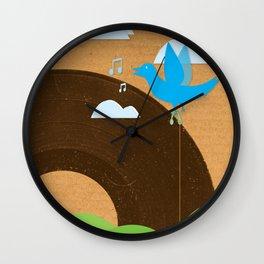 Bird Song Wall Clock