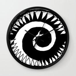Round Scream Wall Clock