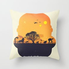 Starking Throw Pillow