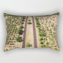 Desert Road Rectangular Pillow