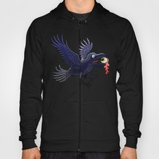 Crow Stealing an Eye Hoody