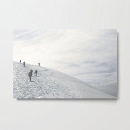 Volcano Ascent 01 Metal Print