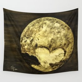Universal Love from Pluto Wall Tapestry