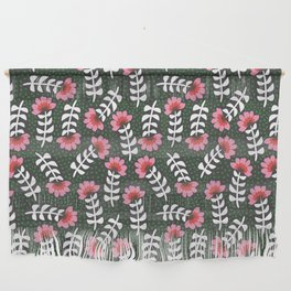 Camelita Retro Folk Flower Wall Hanging