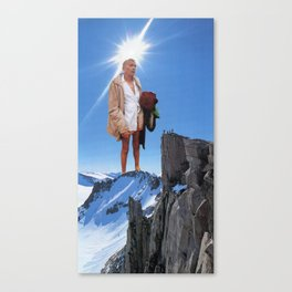 And Lo, I Forgot What I Came Up Here For Canvas Print