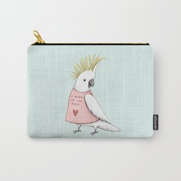 Pretty Cockatoo Carry-All Pouch