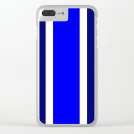 TEAM COLORS10....BLUE,NAVY Clear iPhone Case
