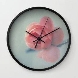 Vintage blossom Wall Clock