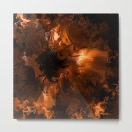 Ravaged Visions Metal Print