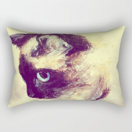 Siamese Cat Rectangular Pillow