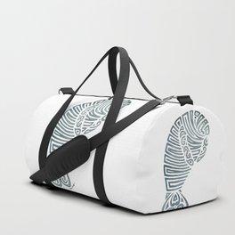 Tribal Manatee Duffle Bag