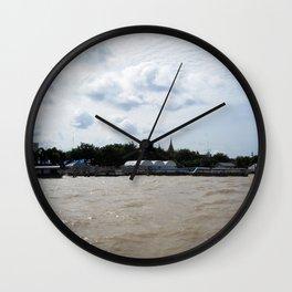 Mekong River Wall Clock