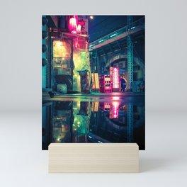 Reflection of Neo-Tokyo Mini Art Print