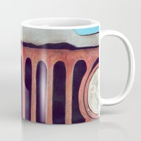 jeep Mugs featuring Jeep by Shannon Rutherford
