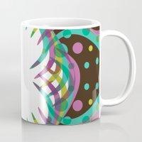 Abstract Spring Bloom Mug