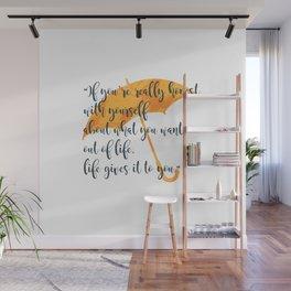 Honest Wall Mural