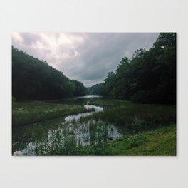 Wormley Creek, Yorktown Canvas Print