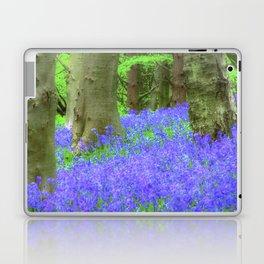 Bluebell Woods, The Wenallt #2 Laptop & iPad Skin