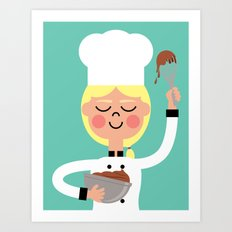 It's Whisk Time! Art Print