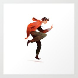 Dancing Boy Art Print