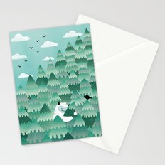 Tree Hugger (Spring & Summer version) Stationery Cards