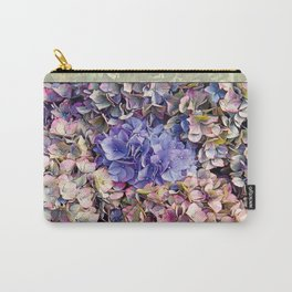 LATE BLOOMER HYDRANGEA Carry-All Pouch
