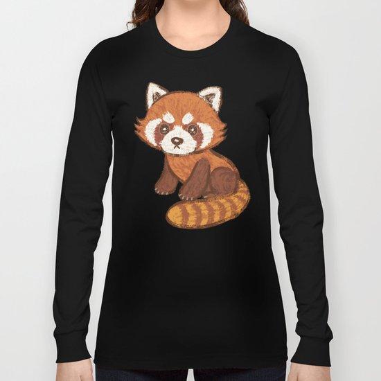Red Panda Long Sleeve T-shirt