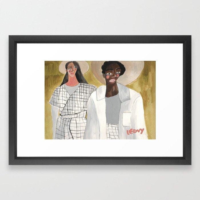 Campo Framed Art Print