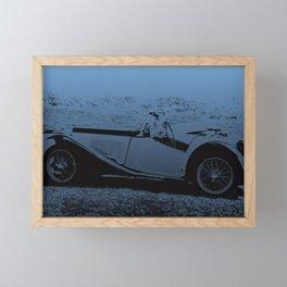 Classic Vintage Car Framed Mini Art Print