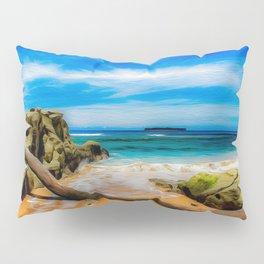 Singular Tropical Beach Pillow Sham
