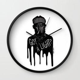 Got a Light? Wall Clock