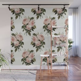 Three English Roses Wall Mural