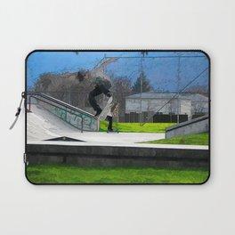Skateboarding Fool Laptop Sleeve