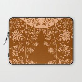 floral ornaments pattern cb Laptop Sleeve