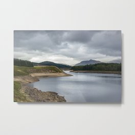 Lakes in Scotland Metal Print