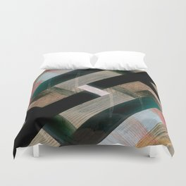 Crass Hatch Duvet Cover