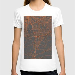 Louisville map 2 T-shirt