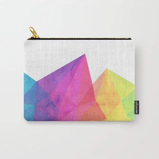 Fractal Rainbow Carry-All Pouch