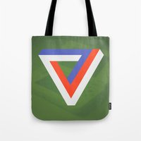 gaming Tote Bags featuring Polygon Gaming by Thomas Official