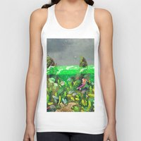 underwater Tank Tops featuring Underwater by Lara Paulussen