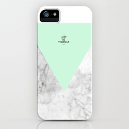 Be Yourself iPhone Case