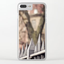 gated Clear iPhone Case