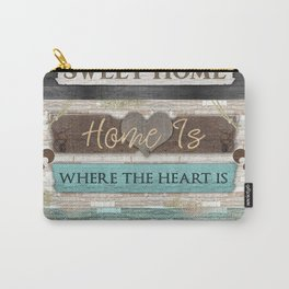 Home Sweet Home Series Carry-All Pouch